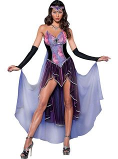 Adult Seductive Sorceress Costume Deluxe - Party City