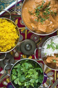 Pollo hindú con mantequilla. Murgh Makhani by Loleta.es
