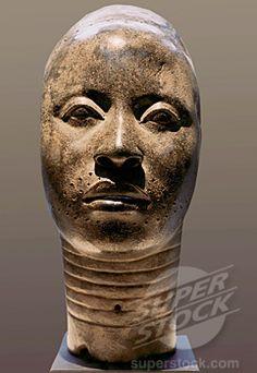 yoruba art | - Head of an Oni-Yoruba, Ife, Nigeria 12th -15th Century African Art ...