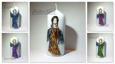 Claudia's Karteria Candle Lanterns, Candles, Blog, Crafts, Boxes, Bricolage, Handmade, Creative, Manualidades