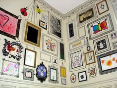 Desenhando na parede - dcoracao.com - blog de decoração