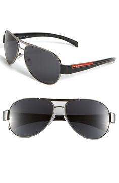 Prada Aviator Sunglasses available at #Nordstrom