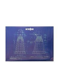HOTTOPIC.COM - Doctor Who Dalek Blueprint Poster