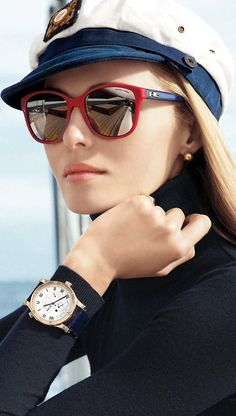 Nautical Look: Ralph Lauren eyewear ad campaign advertisement summer 2014 Ray Ban Sunglasses, Sunglasses Women, Summer Sunglasses, Sports Sunglasses, Celebrity Sunglasses, Sunglasses Outlet, Eyewear Trends, Bcbg, Ralph Lauren