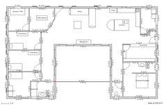212 best plan maison images on Pinterest | House design, Blueprints ...