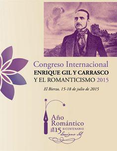 El Bierzo acogerá en julio el Congreso Internacional «Enrique Gil y Carrasco y el Romanticismo» http://revcyl.com/www/index.php/cultura-y-turismo/item/5457-el-bierzo-acoger%C3%A1-en-julio-el-congreso-internacional-enrique-gil-y-carrasco-y-el-romanticismo