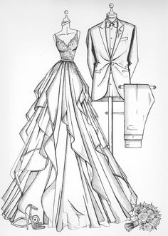 Fashion Design Sketches 576812664765504331 - Fashion Design Sketches 236016836710878988 Source by thierryvilleron sketchdesign Source by Dress Design Drawing, Dress Design Sketches, Fashion Design Sketchbook, Fashion Design Drawings, Clothes Design Drawing, Suit Drawing, Fashion Figure Drawing, Fashion Drawing Dresses, Drawings Of Dresses