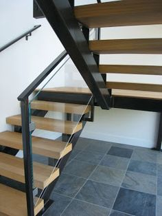 Interior Glass Stair Railing, Glass Clamps | Marin Glass and Windows Blog
