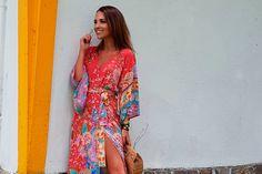 Las sandalias de Paula Echevarría son de las rebajas de Bimba & Lola verano 2017
