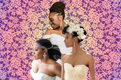19 Blushing Brides Serving The Ultimate Natural Hair Inspo from essence.com