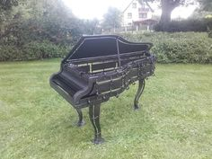 Barbacoa, Barbecue Grill, Music Instruments, Fire, Sculptures, Kunst, Barbecue, Musical Instruments