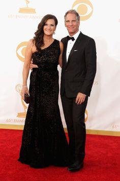 Scott Bakula and his wife Chelsea Field
