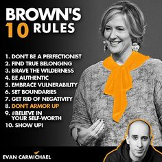 53 Likes, 4 Comments - Evan Carmichael The Power Of Vulnerability, Rules And Laws, Brené Brown, Ted Talks, Personal Development, Best Sellers, Netflix, Believe, Success