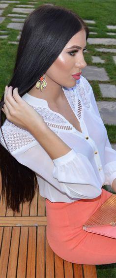 Laura Badura - Fashion and Beauty | Peach Melba
