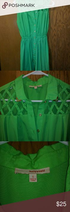 Hollywould light green dress This is a fun green dress size small Hollywould Dresses