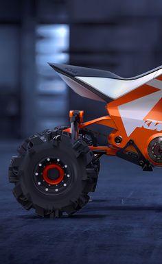 KTM X2 HYBRID, SNOWMOBILE + ATV on Behance