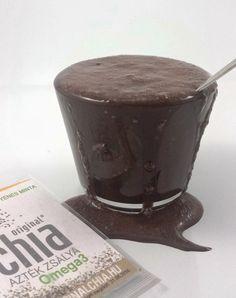 Teljes élet tej és tojás nélkül: Csokis chia puding (tej és tojásmentes,nyers)