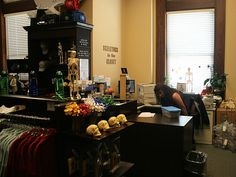 Skeletons in the Closet store in Los Angeles - on the 2nd floor of the county coroner's office