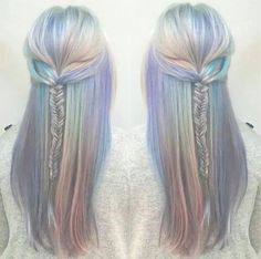 Holographic hair!