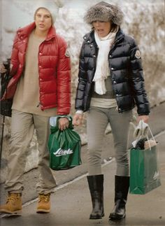 Charlotte Casiraghi with her mother Princess Caroline of Monaco