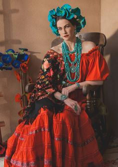 Rocki Gorman designer of jewerly and clothing in Santa Fe, New Mexico USA Home