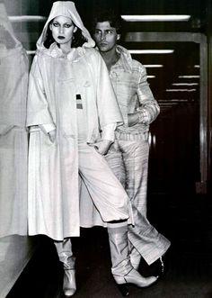 Ted Lapidus. L'Officiel magazine 1977 1977 Fashion, Retro Fashion, Vintage Fashion, Womens Fashion, Ted Lapidus, 70s Style, Old Hollywood Glamour, Fashion Images, Fashion History