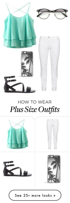 """""""palm"""" by jocelyne-luna on Polyvore featuring Steilmann, Forever 21 and Zero Gravity"""