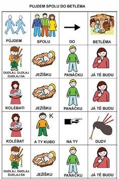 Fotka: Language, Logos, Christmas, Social Stories, Autism, Xmas, Logo, Languages, Navidad