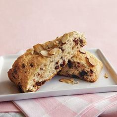 Chocolate-Cherry-Almond Scones Recipe | MyRecipes.com
