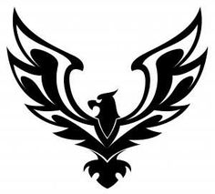 Eagle tribal flag