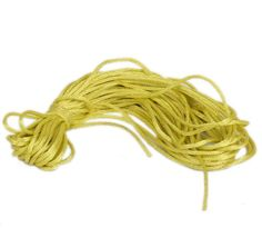 Eozy Clearance :2mm Nylon Satin Chinese Knotting Cords Making Jewelry Yellowgreen