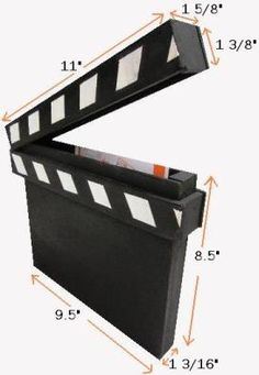 How to Make a Movie Clapperboard - Got Questions? Get Answers!