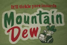 Retro Mountain Dew Green Mens Vintage Tshirt T-Shirt M Med Medium Mt Mtn Soda | eBay