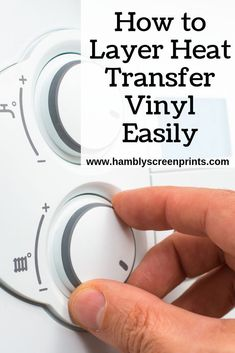 how to layer heat transfer vinyl Vinyl Decals, Wall Decals, Screen Printing Machine, Vinyl Projects, Classroom Projects, Vinyl Shirts, Vinyl Cutter, Text Style, How To Find Out