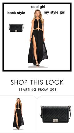 """black style"" by saulute730 ❤ liked on Polyvore featuring ...Lost and Chanel"
