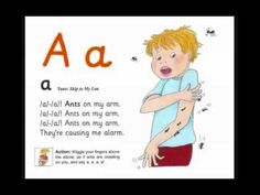 Letter 'A'_Jolly Phonic song