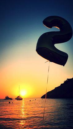 2 years of magic ibiza Island:) Birthday photo ideea