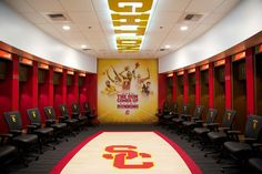 University of Southern California - Men's Basketball Locker Room
