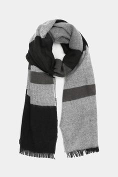 e93b2bfde Ardene Color Block Oversized Scarf Oversized Scarf, How To Wear Scarves,  Baby Alpaca,