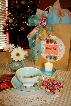 Tea Party for One {Gift Kit}