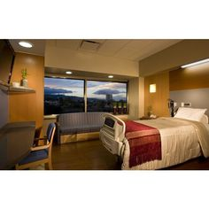Hospital room. Future Treatment Rooms ❤ liked on Polyvore featuring hospital, house, medical, pictures and places
