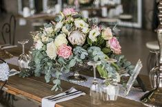 WEDDING | Deon & Vanessa FLOWERS | King Protea, roses, penny gum  PHOTO | Leze Hurter Photography