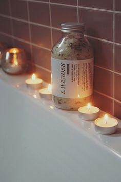 Lavender bath salt, 500 ml - Niittylä Home