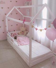 Baby Bedroom, Baby Room Decor, Room Decor Bedroom, Girls Bedroom, Toddler Rooms, Toddler Bed, Little Girl Bedrooms, Girl Bedroom Designs, Home Room Design