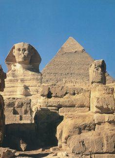 See the pyramids ~ Pyramid of Khafre, Giza, c. 2,600-2,480 BC, Cairo, Egypt (4th Dynasty, Old Kingdom)