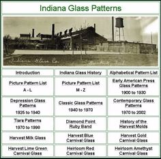 Shop for-and learn about-Vintage Indiana Glass. The Indiana Glass Company of Dunkirk can trace its roots to the founding of the Beatty-Brady Glass Company.