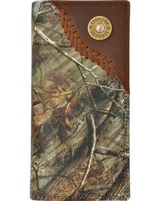 1328be13fc4f 3D Badger Camo Leather Outdoor Rodeo Wallet