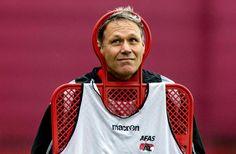 Prachtfoto Van Basten. #Ajax