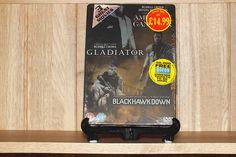 British American Gangster/Gladiator/Black Hawn Down DVD steelbook