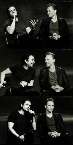 Seb and Tom on interview edit isn't it well it's cool regardless